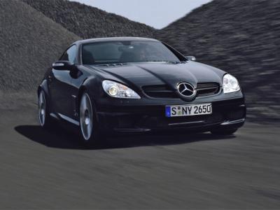 Coche ideal / coche realista / tu coche Mercedes-slk-55-amg-black-edition