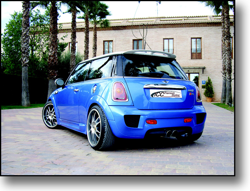 mini r56 by icc tuning car news. Black Bedroom Furniture Sets. Home Design Ideas