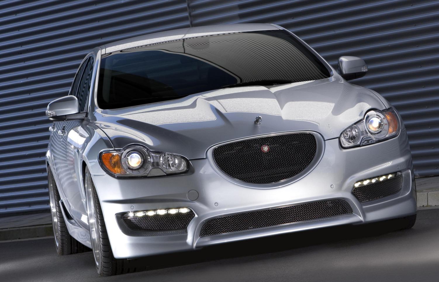 Jaguar XF Top Images