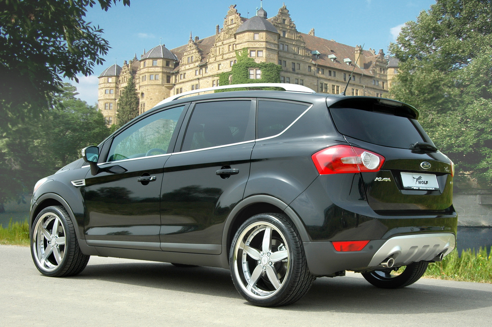 wolf modifies the new ford kuga car news. Black Bedroom Furniture Sets. Home Design Ideas