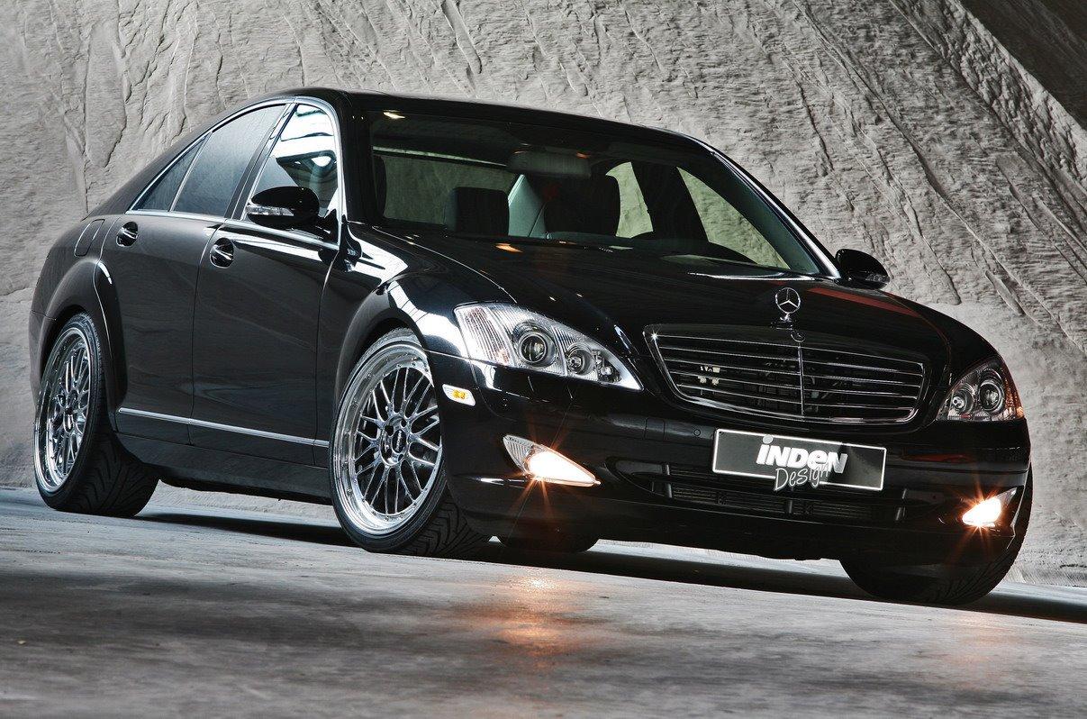 Mercedes benz s500 4matic by inden design car news for Mercedes benz design