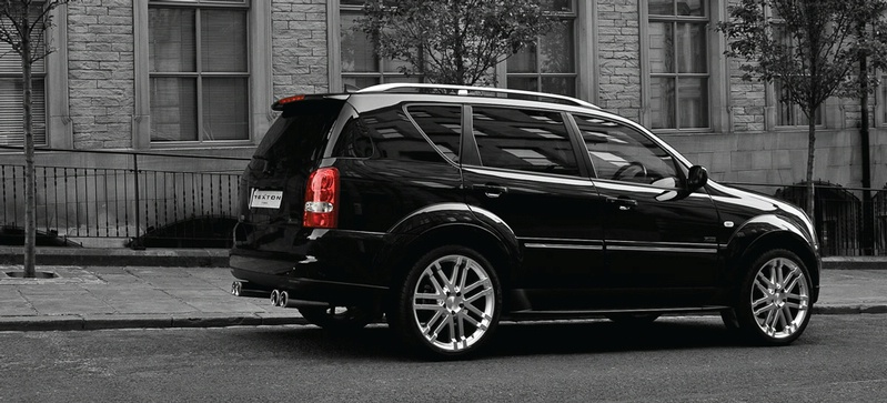 SsangYong Rexton by Project