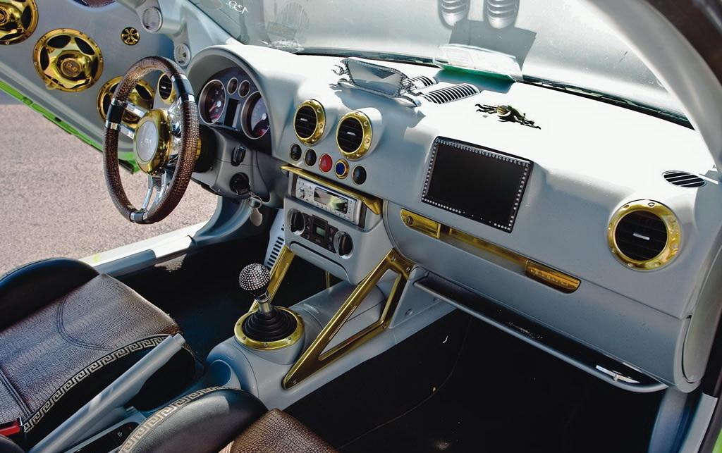 audi tt 2009 tuning. Audi TT Green Titan