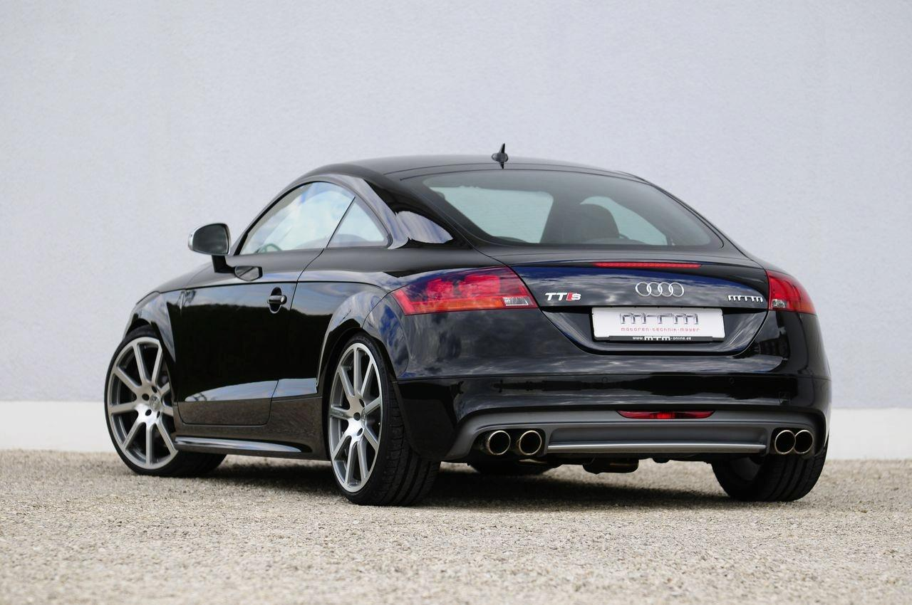 Audi TTS Details and Photos