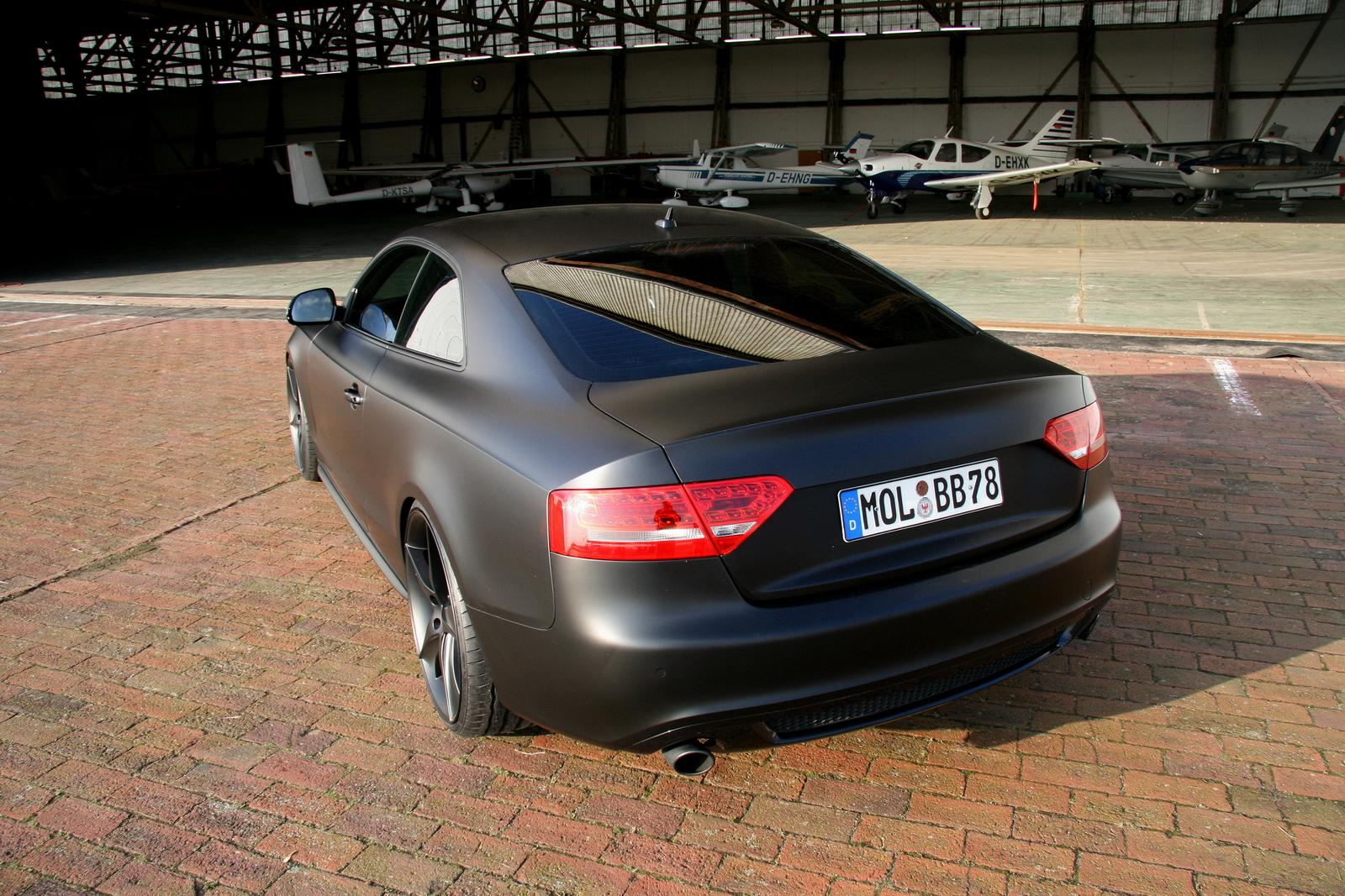 Audi A5 Black Top ride