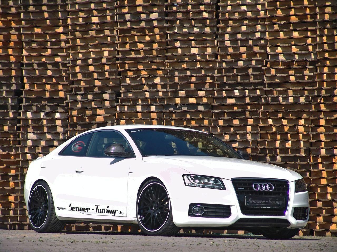audi a5 3 0 tdi black and white by senner tuning car news. Black Bedroom Furniture Sets. Home Design Ideas