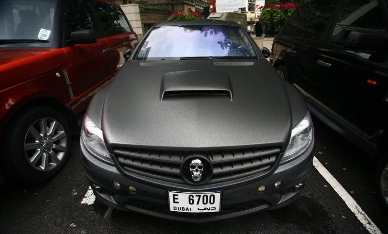 cls 63 amg. Mercedes CL63 AMG Ed Hardy