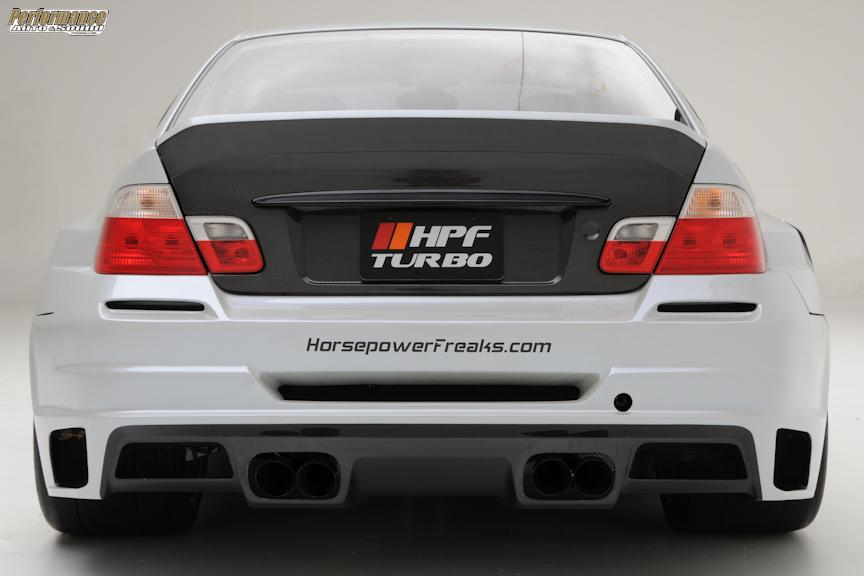 tuning bmw e46. BMW M3 E46 by HPF