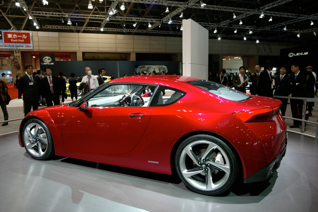 Toyota's Concept Car FT 86