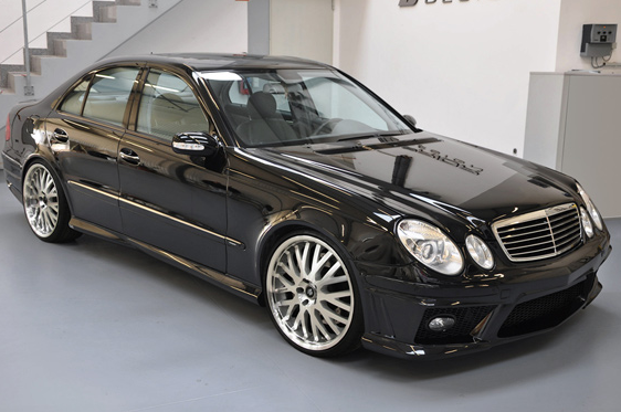 mercedes e klasse w211 pd65 by prior design car news. Black Bedroom Furniture Sets. Home Design Ideas