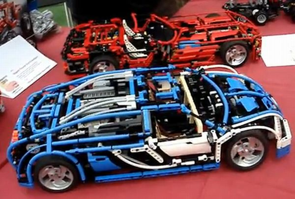 lego technic bugatti veyron with 7 r sequential gearbox car news. Black Bedroom Furniture Sets. Home Design Ideas