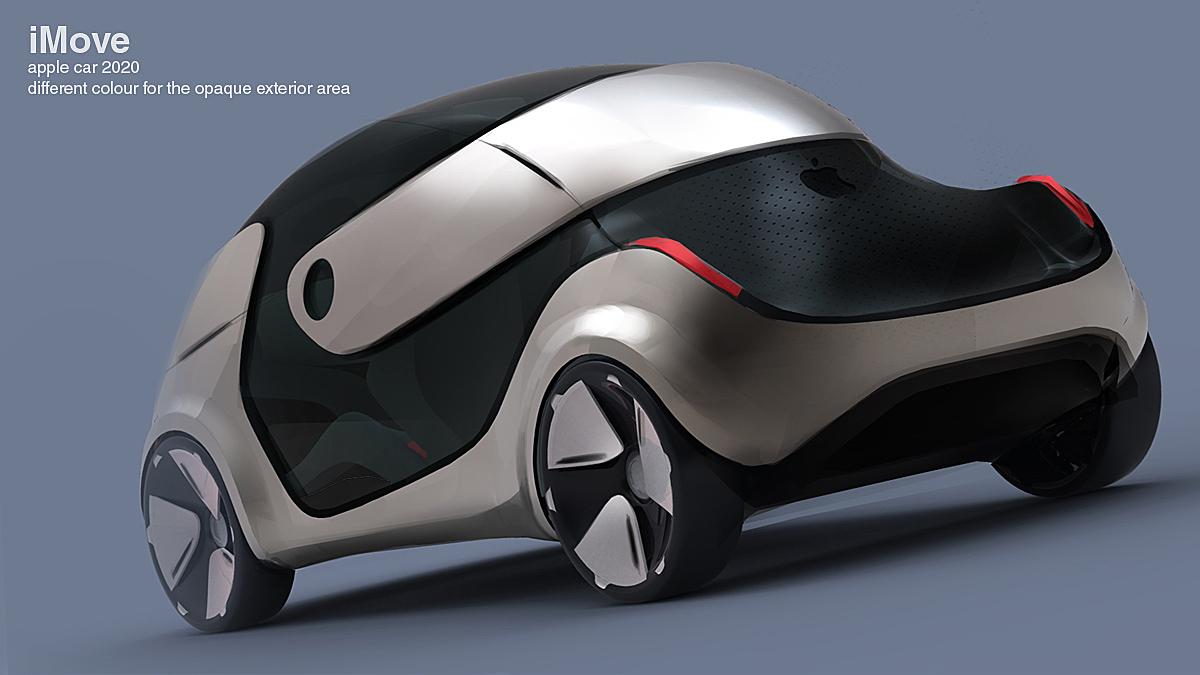 Apple Concept Apple Green Car Imove Concept
