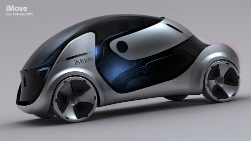 Apple Green Car iMove Concept