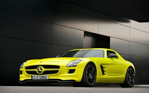 mercedes sls amg. Mercedes SLS AMG E-Cell is a