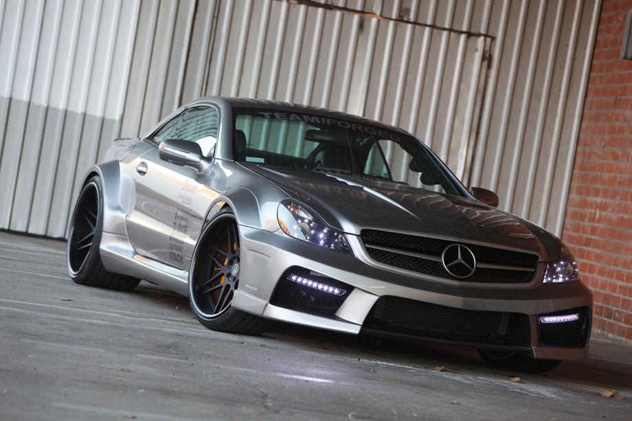 Mercedes SL65 AMG IForged By Misha Design Car News
