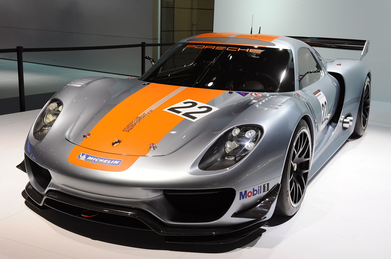 2011 detroit auto show porsche 918 rsr car news. Black Bedroom Furniture Sets. Home Design Ideas