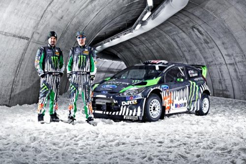 2011 Ken Block Ford Fiesta RS WRC