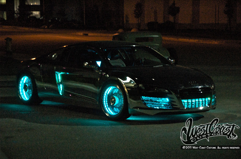 Camp Much Audi R8 Tron By West Coast Customs Car News