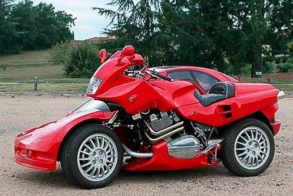 Ferrari Car-Motorcycle