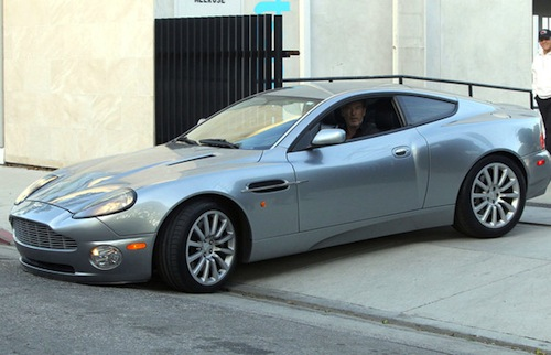Pierce Brosnan Aston Martin Vanquish