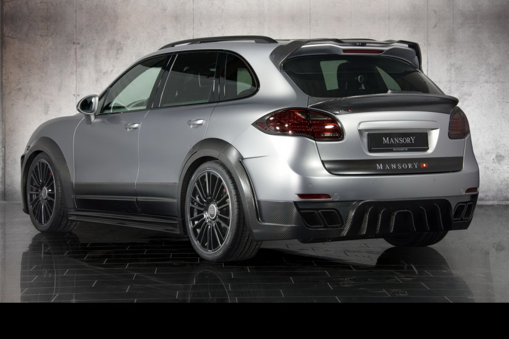 amazing mansory tuning for porsche cayenne turbo suv car news. Black Bedroom Furniture Sets. Home Design Ideas