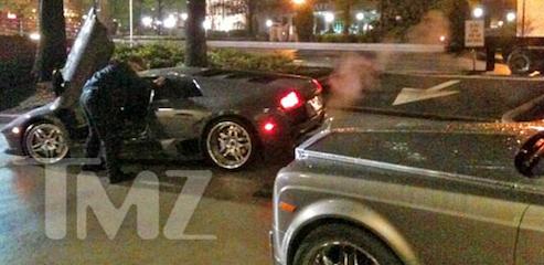 Allen Iverson's Lamborghini