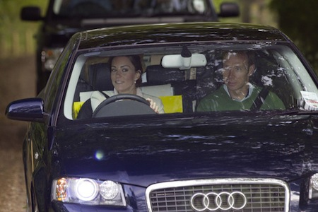 Kate Middleton Audi