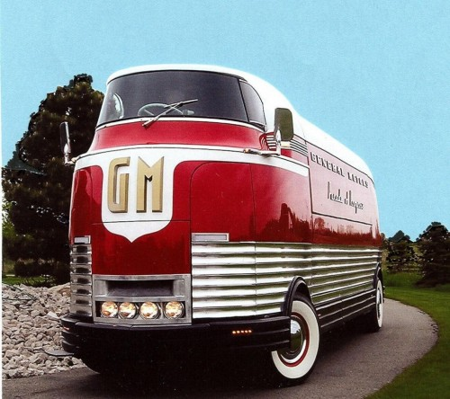 1950 GM Futurliner Parade of Progress