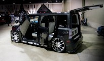 Custom Scion xB with Lambo doors