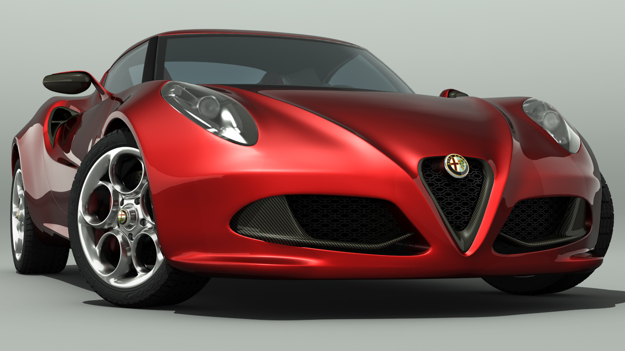 running rings round the competition the alfa romeo 4c car news. Black Bedroom Furniture Sets. Home Design Ideas