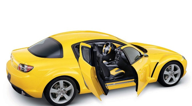 Mazda RX8 Yellow