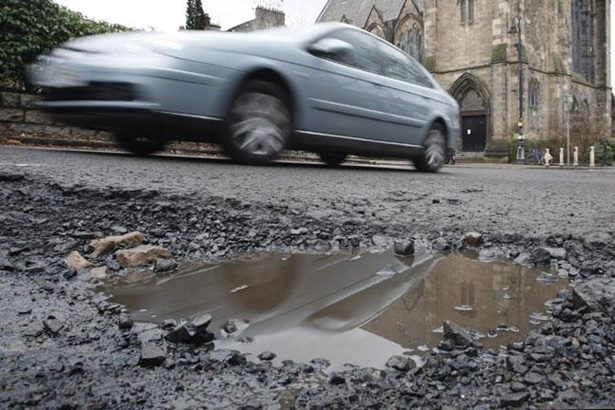 car-Potholes